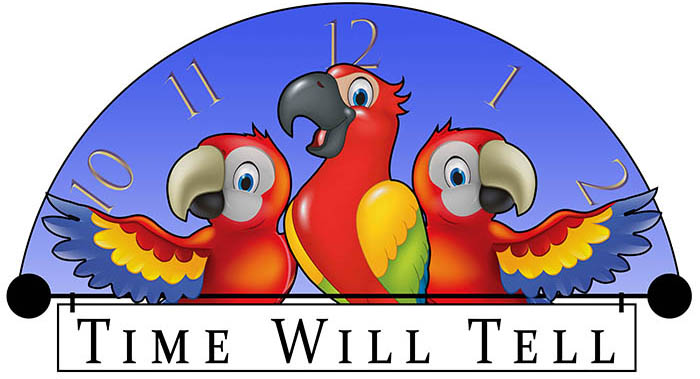 Time Will Tell - Logo - web