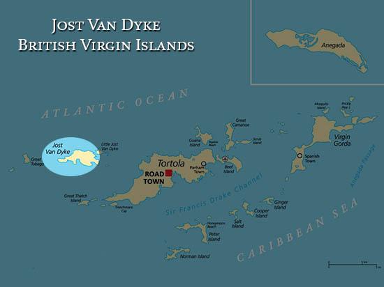 BVI-Map-Jost Van Dyke