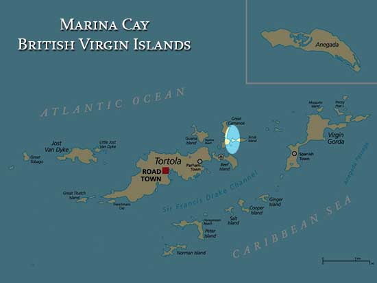 BVI-Map-Marina Cay